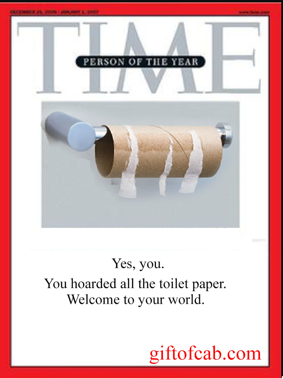 time toilet paper