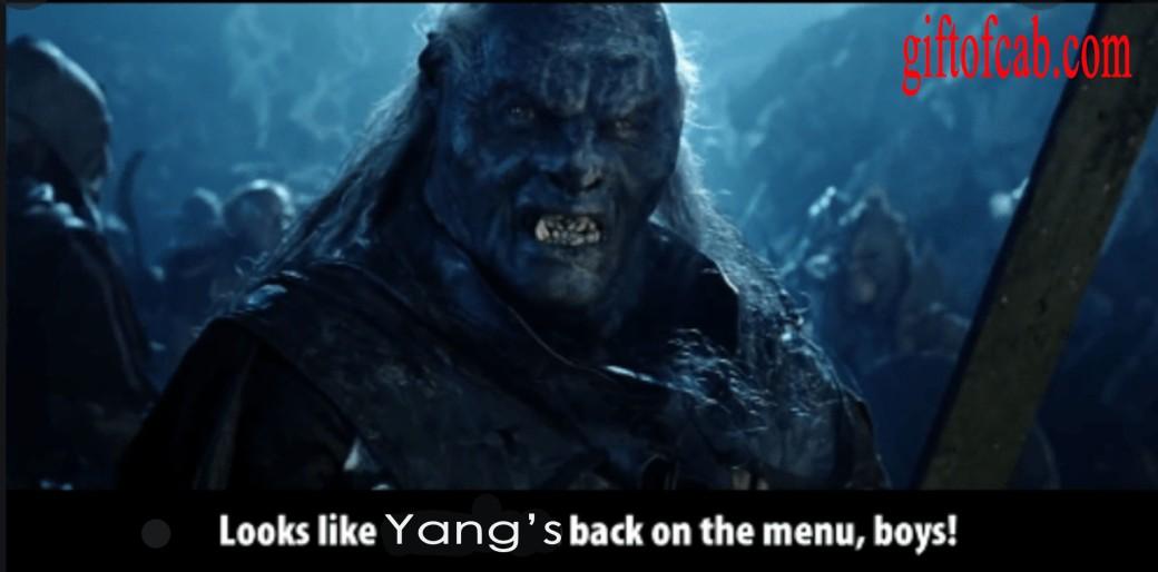 yang menu